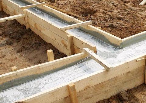 Технология строительства ленточного фундамента
