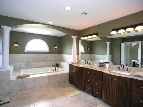 Освещение для ванной комнаты фото