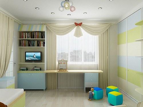 Как обустроить маленькую детскую комнату