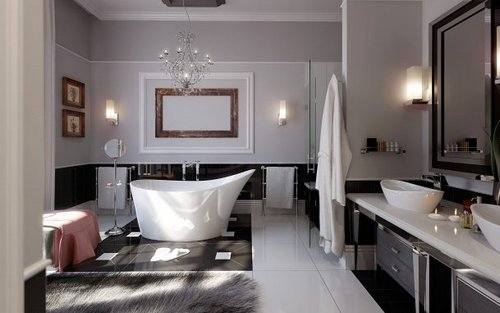 Дизайн интерьера ванной комнаты фото в квартире