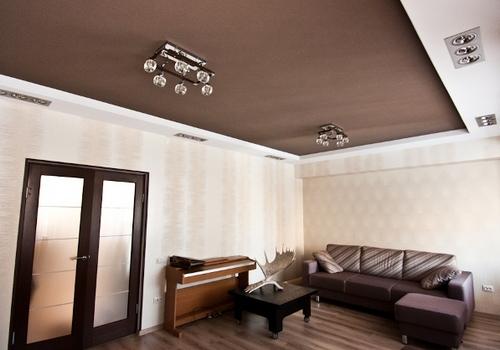 Гипсокартонные двухуровневые потолки своими руками