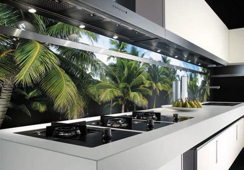 Стеновая панель для кухни пластик