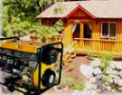 Электрогенераторы дизельные для дома