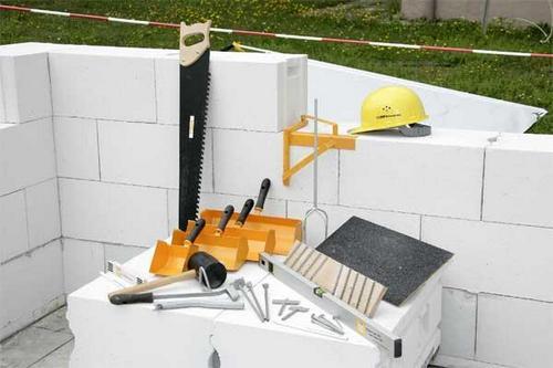 Расчет строительства дома из газобетона