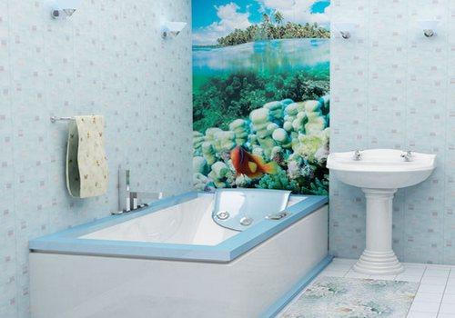 Как ванную комнату обшить пластиком