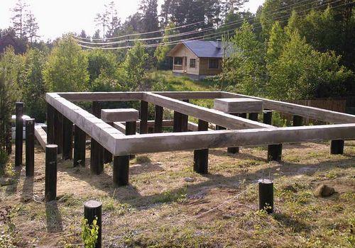Использование винтовых свай в малоэтажном строительстве