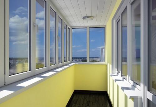 Фасадное остекление балконов и лоджий