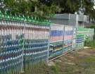 Как сделать забор из пластиковых бутылок своими руками?